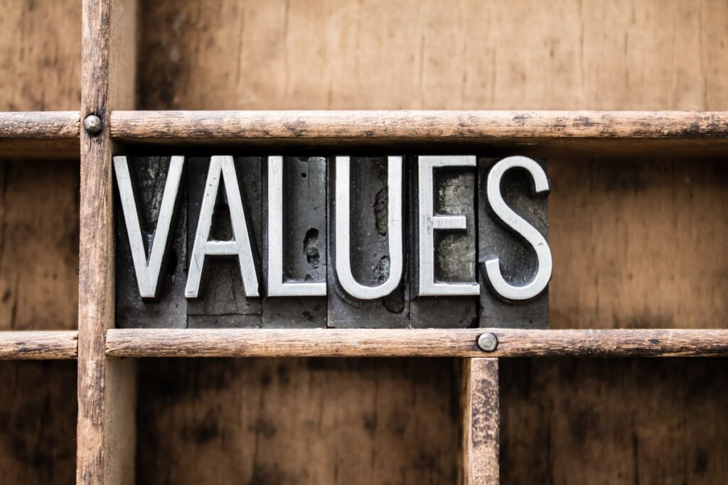 Our Values in Ministry